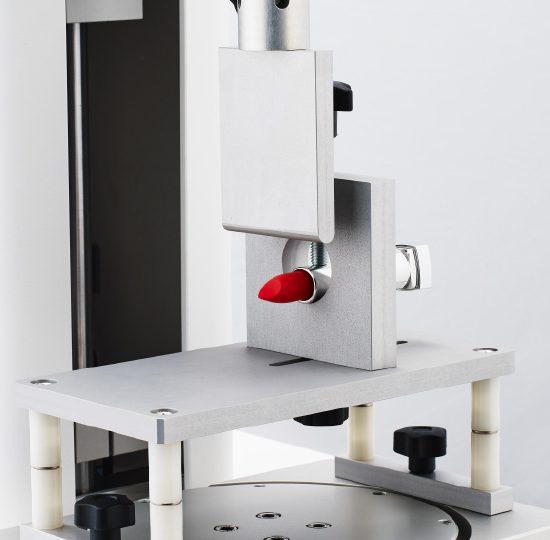 cellule, banc rouge à levres pour analyseur de texture
